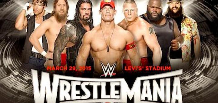 WWEレッスルマニア31 対戦カード最新版