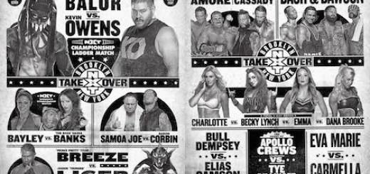 NXTテイクオーバー:ブルックリン