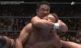 オカダ・カズチカ 永田裕志