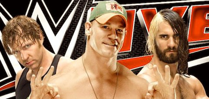 WWEライブ ジョン・シナ ディーン・アンブローズ セス・ロリンズ