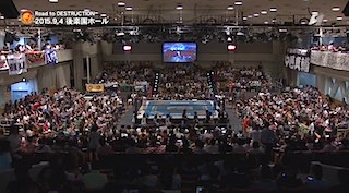 新日本プロレス 後楽園ホール 当日