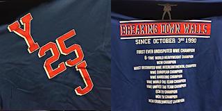 クリス・ジェリコのデビュー25周年記念Tシャツ