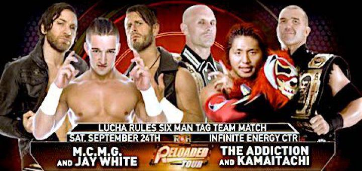 [新日本プロレス&ROH] カマイタチとジェイ・ホワイトが6人タッグマッチのルチャ・ルールで対決に!