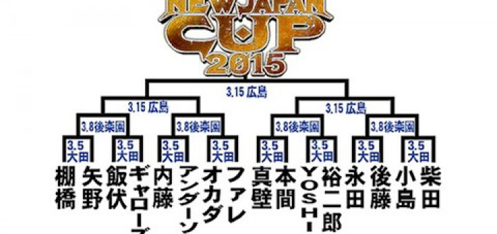 NEW JAPAN CUP 2015