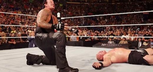 WWEバトルグラウンド アンダーテイカー ブロック・レスナー