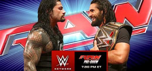 次回RAW予告 セス・ロリンズ ロマン・レインズ