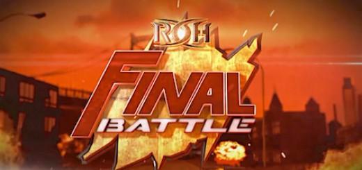 ROH ファイナルバトル 2015 ロゴ